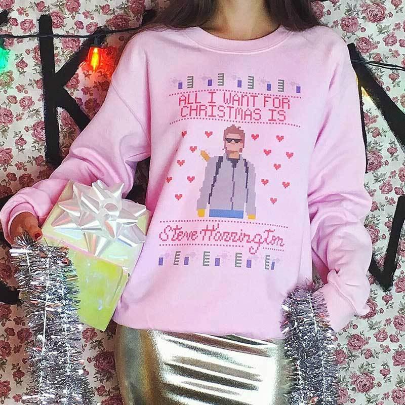 Steve Harrington holiday sweater