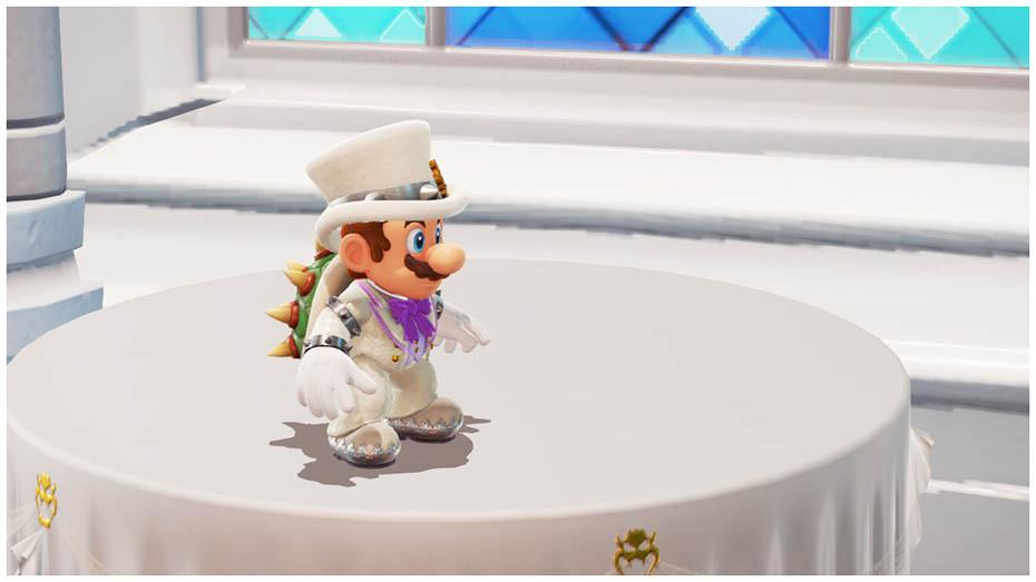 Super Mario Odyssey Bowser's Tuxedo