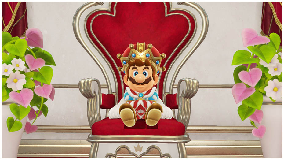 Super Mario Odyssey: King outfif