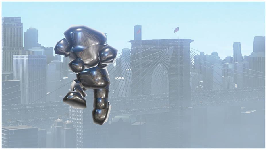 Super Mario Odyssey: Metal Mario