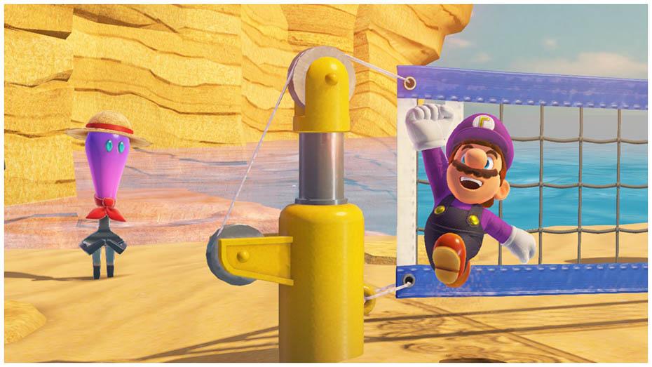 Super Mario Odyssey: Waluigi outfiit