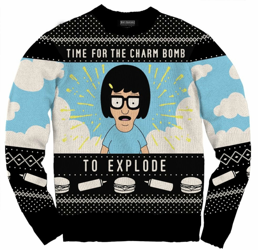 Tina Belcher holiday sweater