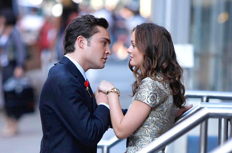Chuck and Blair from Gossip Girl