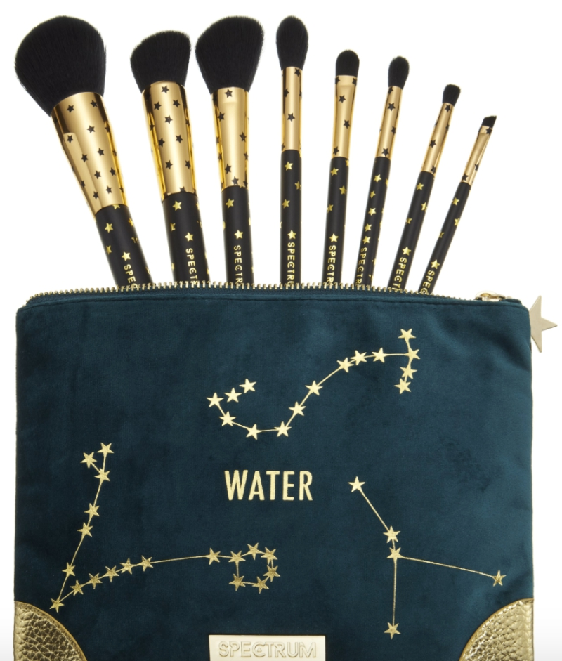 Water Zodiac Makeup Brushes