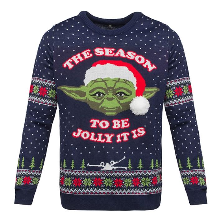 Yoda holiday sweater