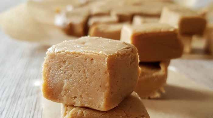 Gingerbread Fudge no bake dessert