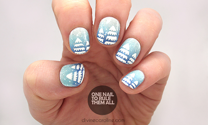 Icy tree nails