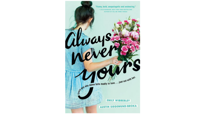 always never yours book cover