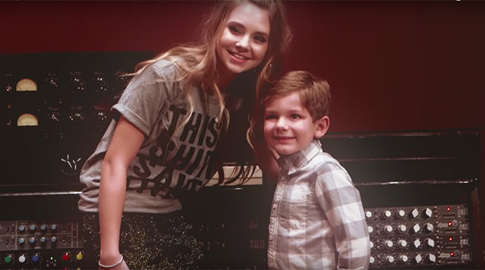 "Country singer Tegan Marie in Radio Disney Country's ""Angels Among Us"" cover video"
