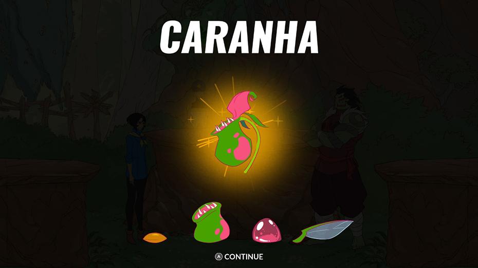 Battle Chef Brigade: Caranha themed ingredients