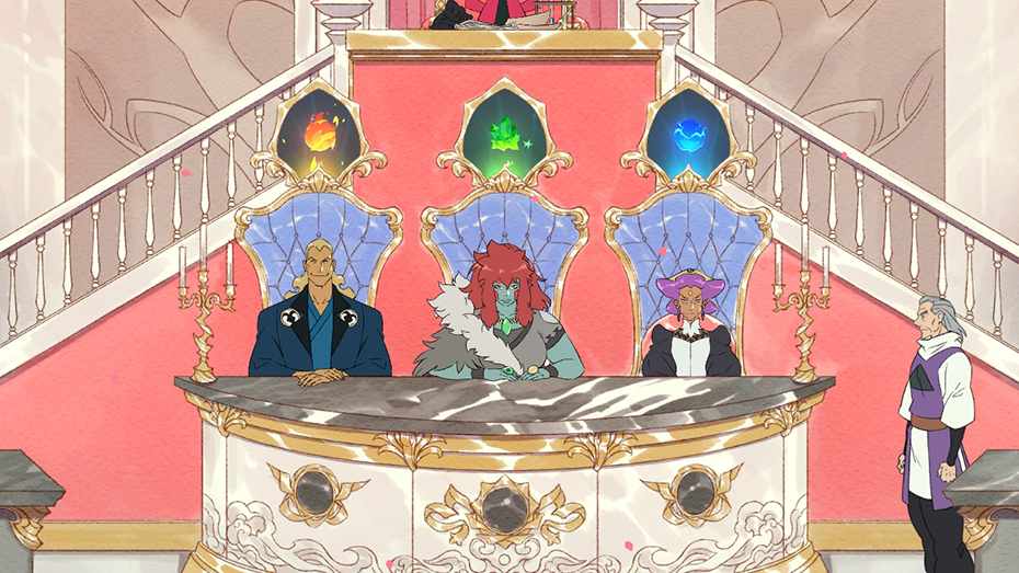 Battle Chef Brigade: Judges fire, earth and water elements