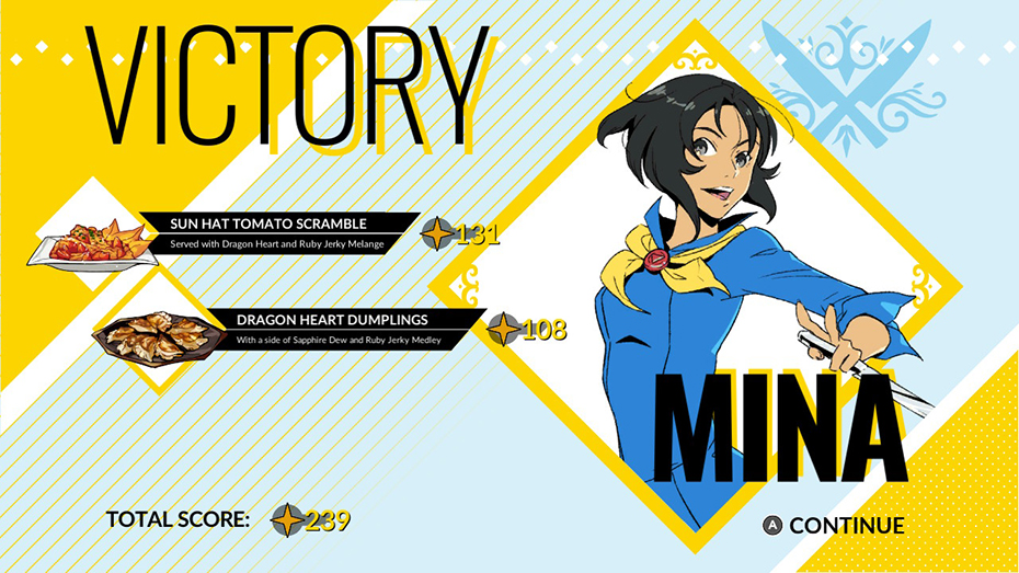 Battle Chef Brigade: Mina Han dishes