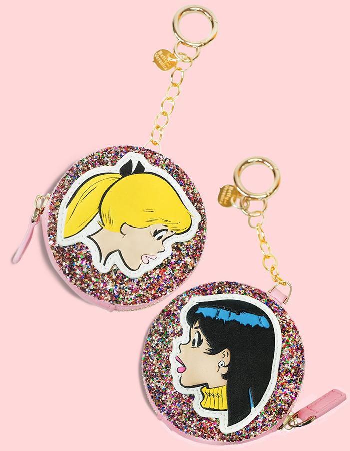 Betty and Veronica coin purse by Betty and Veronica