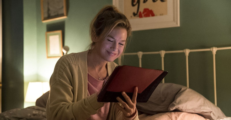 Bridget Jones writing in her diary