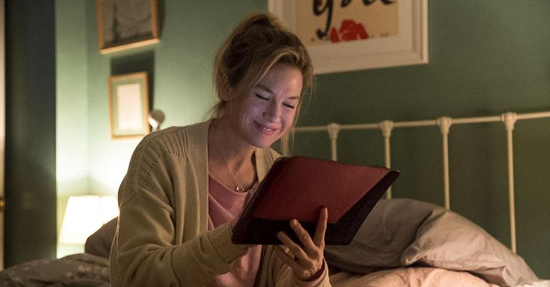 Bridget Jones writing in her diary
