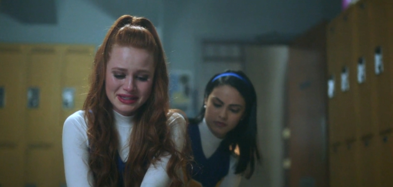 Cheryl From Riverdale Crying