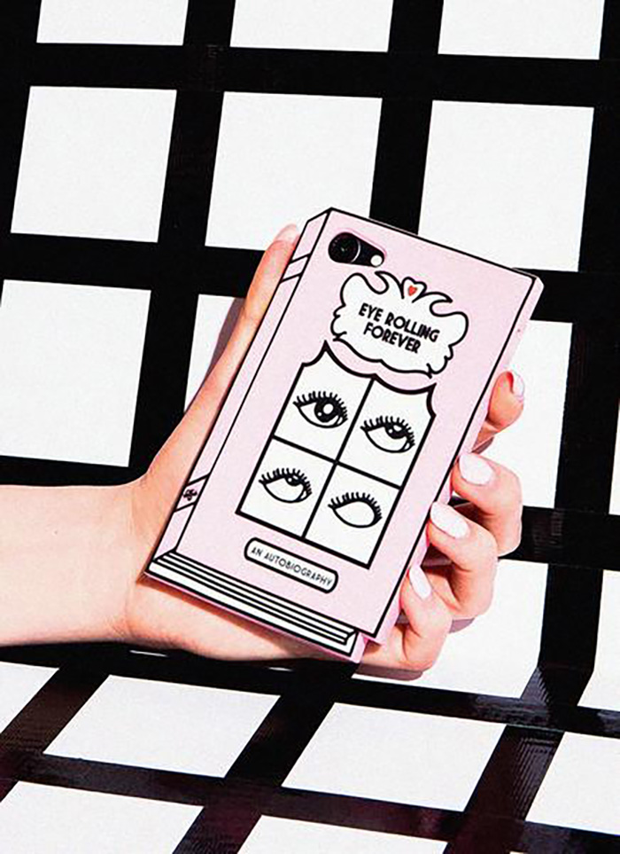 Eye Rolling Forever iPhone case from Valfre