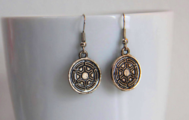 Star Wars galactic empire earrings