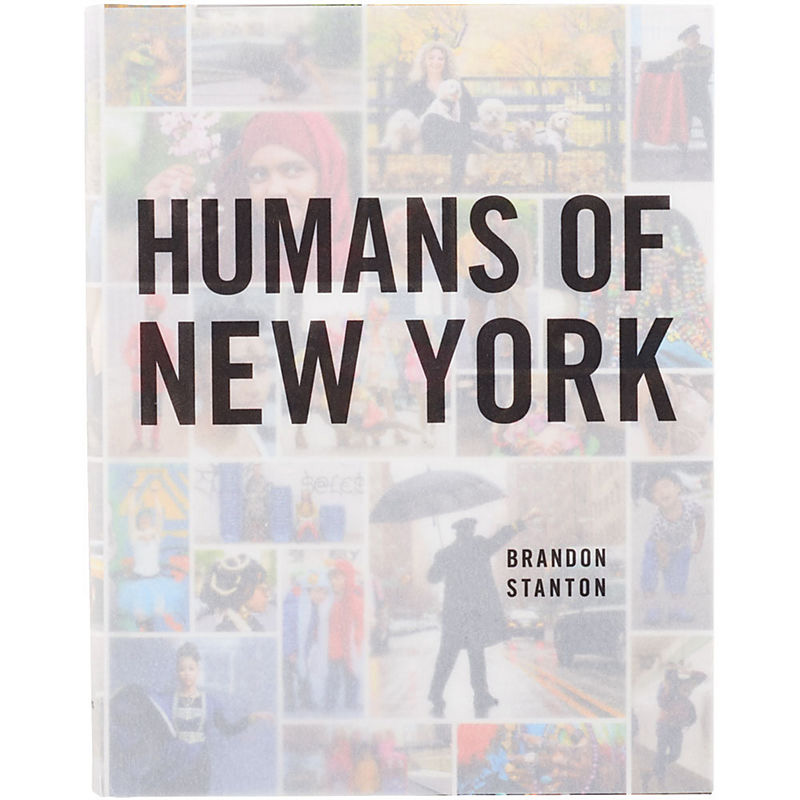 Humans of New York photography book from Paper Source