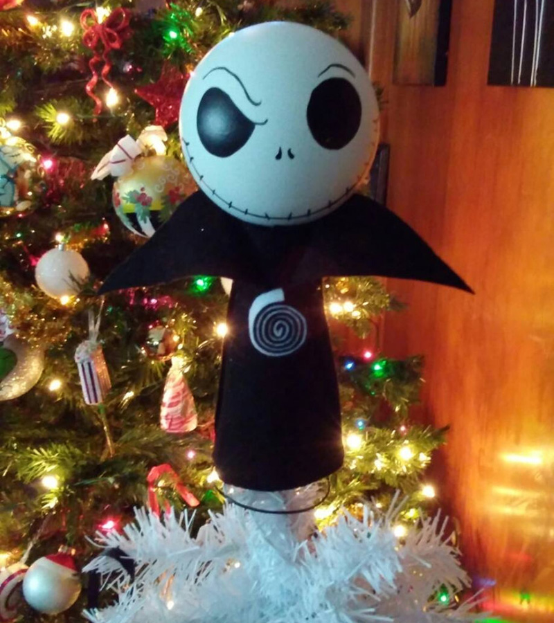 jack skellington christmas tree topper - Jack Skellington Christmas Tree
