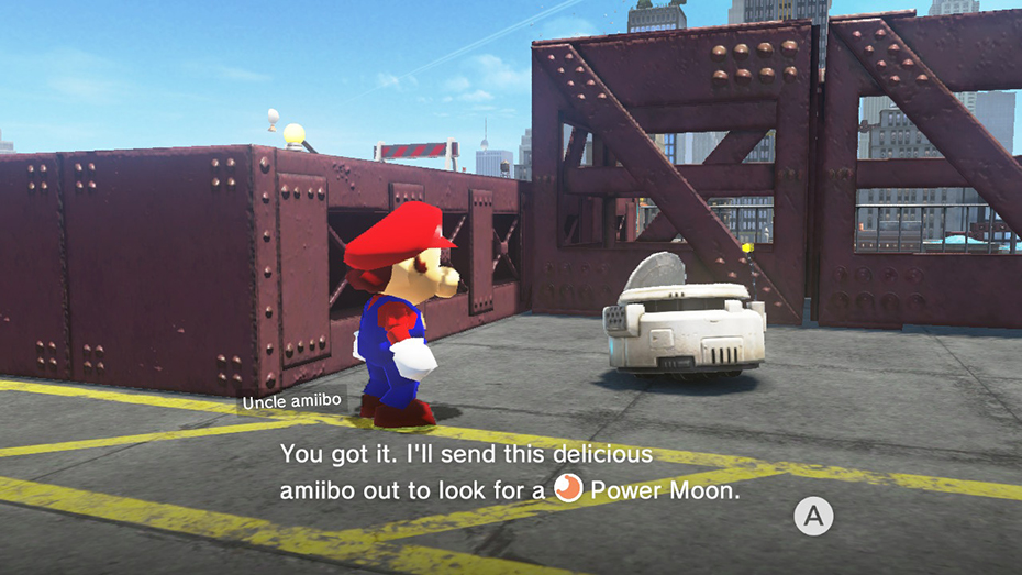 Mario Odyssey delicious amiibo