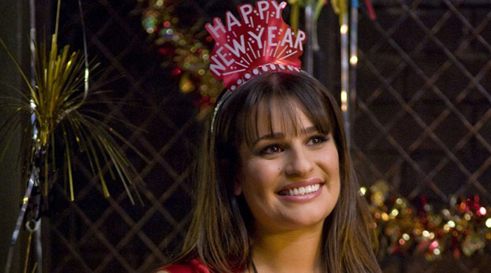 Lea Michele in New Year's Eve