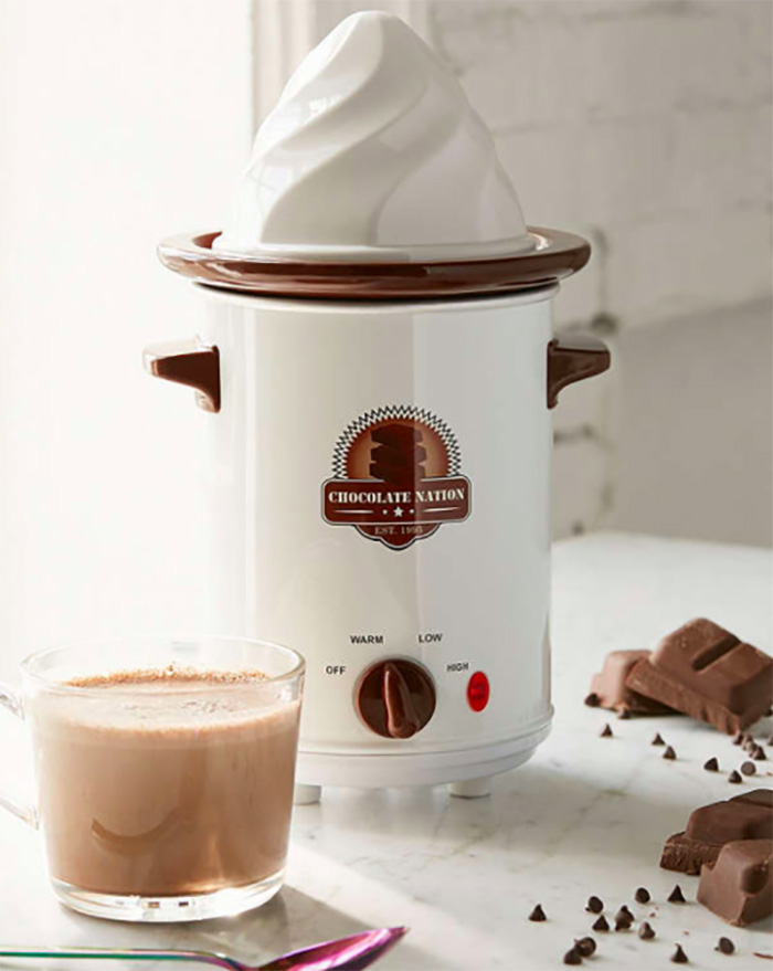 Old-fashioned hot chocolate maker from Urban Outfitters