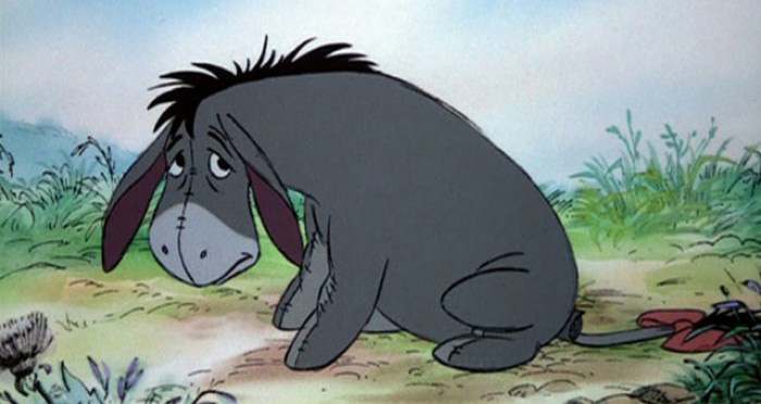 Eeyore from The Many Adventures of Winnie the Pooh