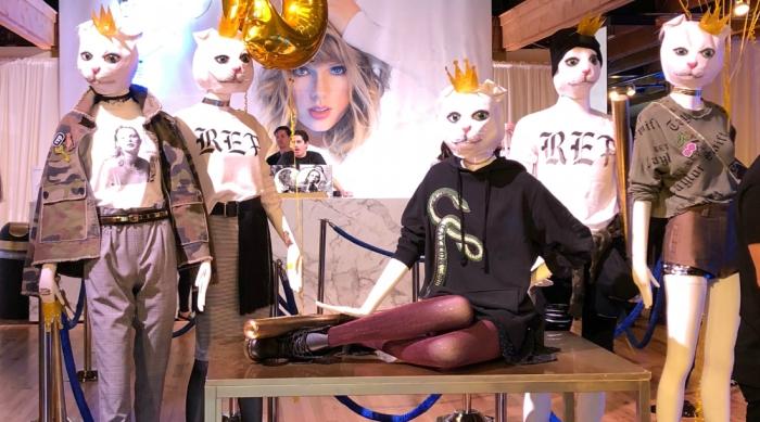 Reputation Cat Head Mannequins