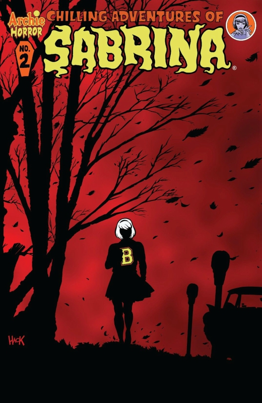 The Chilling Adventures of Sabrina comic book cover