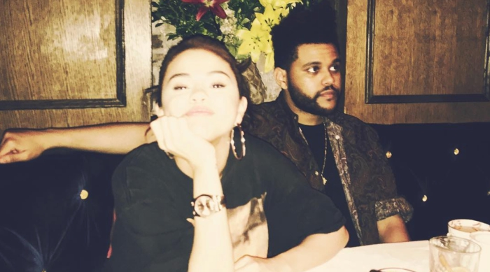 Selena Gomez and The Weekend at a Restaurant