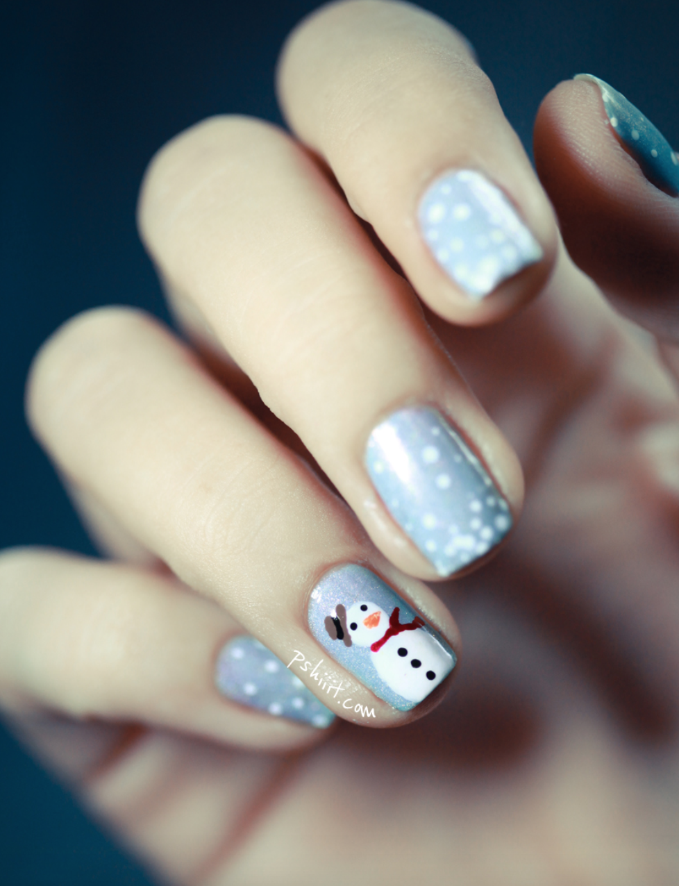 Easy To Follow Diy Holiday Nail Design Tutorials