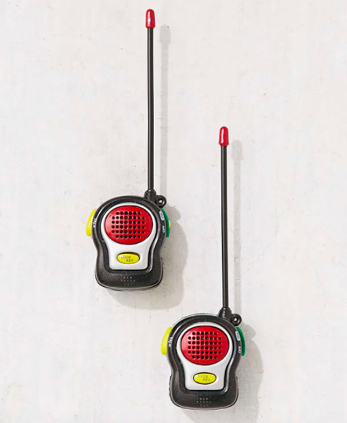 World's smallest walkie talkie set from Urban Outfitters