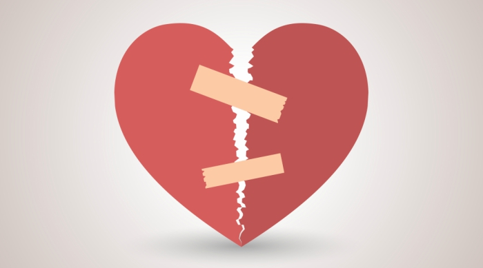 Broken Heart - body- 1/7/18