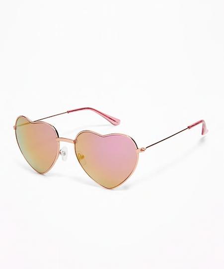 Old Navy Heart Shaped Sunglasses