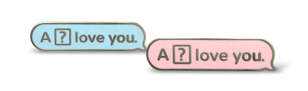 """iPhone glitch, """"a love you"""""""