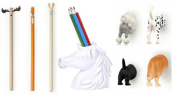 Kikkerland animal items and accessories
