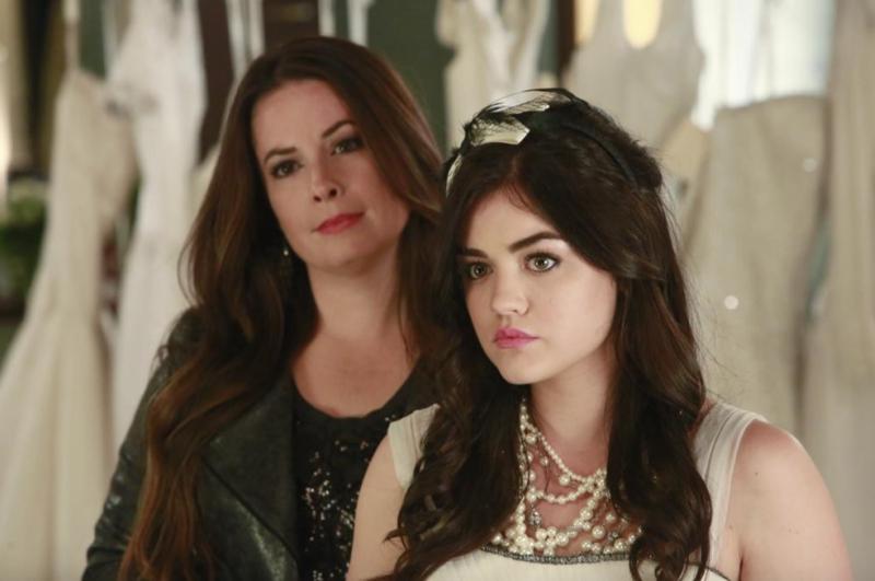 Aria and Ella Montgomery From Pretty Little Liars