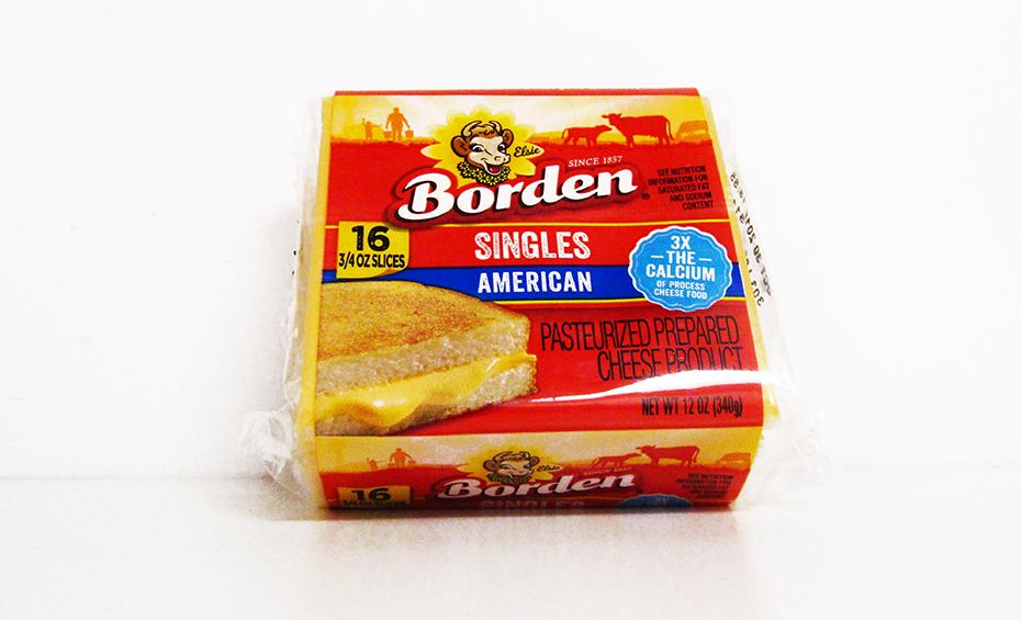 Borden american cheese singles