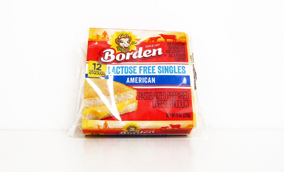 Borden lactose free american cheese singles