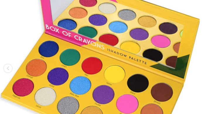 Box of Crayons Eyeshadow Palette