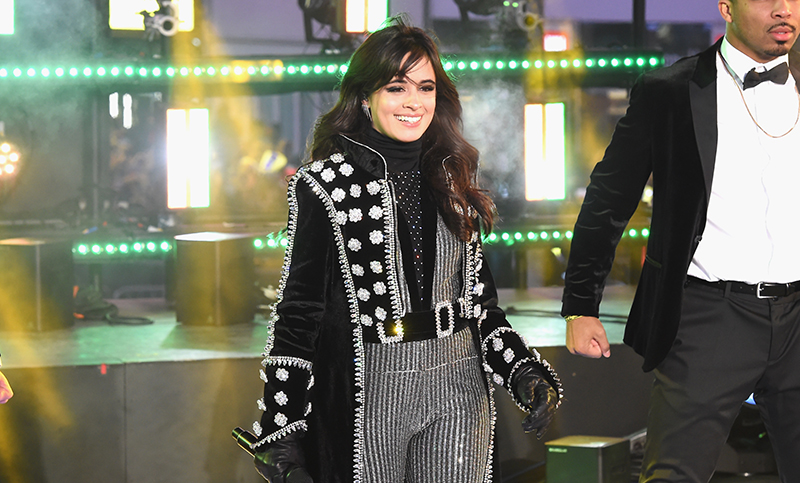 NEW YORK, NY - DECEMBER 31: Camila Cabello performs at the Dick Clark's New Year's Rockin' Eve with Ryan Seacrest 2018 on December 31, 2017 in New York City. (Photo by Nicholas Hunt/Getty Images for dick clark productions)