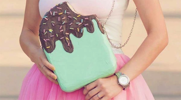 Cuki Bags ice cream handbag