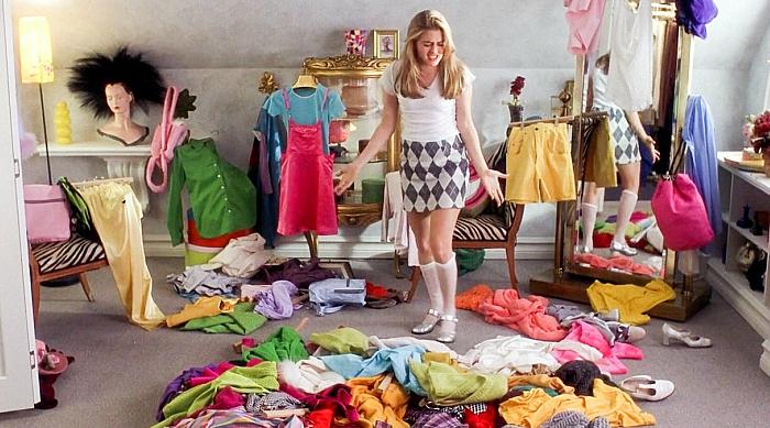 Cher Horowitz messy bedroom