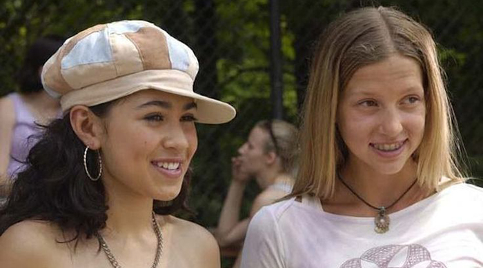 Emma and Manny on Degrassi