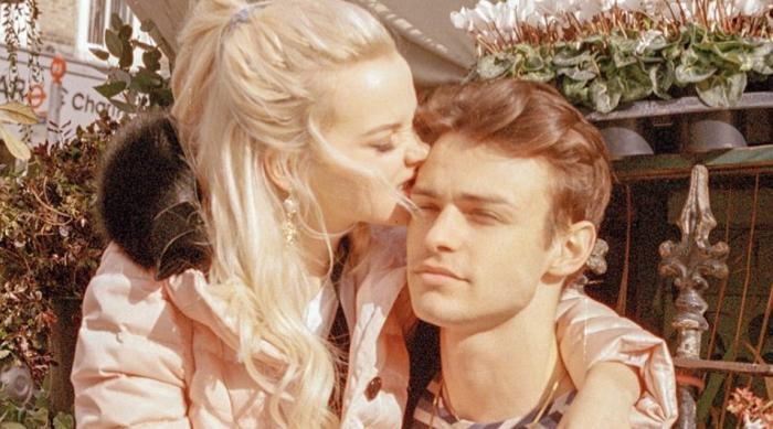 Dove Cameron and Boyfriend Cuddling