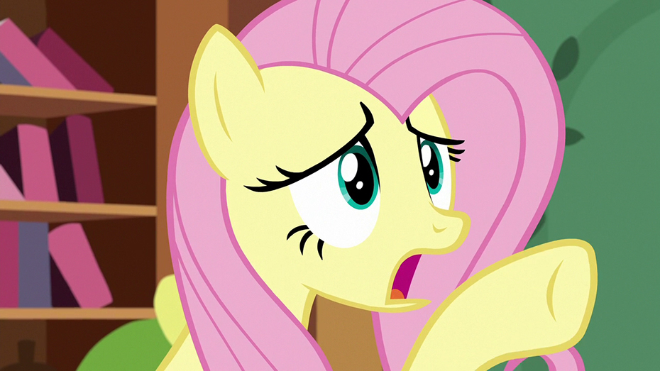 Fluttershy worried in My Little Pony: Friendship Is Magic