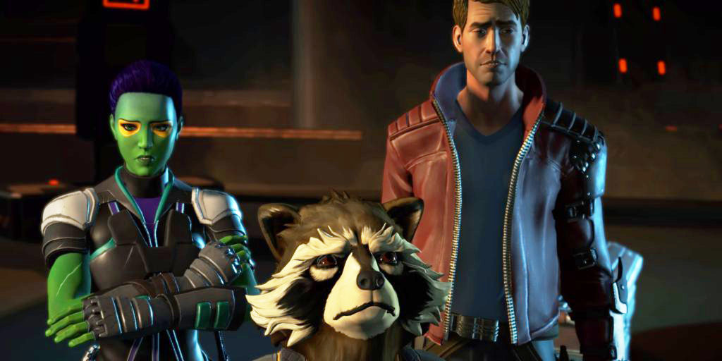 Telltale Guardians of the Galaxy: Gamora, Rocket and Star-Lord