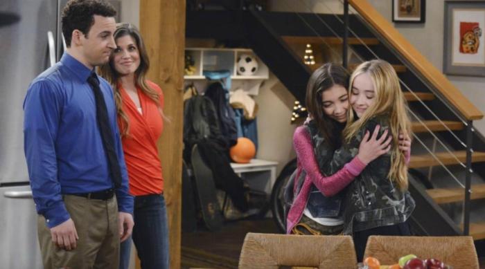 Girl Meets World Riley, Maya, and Parents