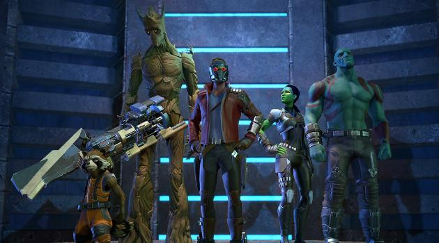 Guardians of the Galaxy: The Telltale Series cast photo